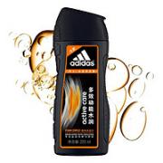 adidas 阿迪达斯 男士多效动能水润去屑洗发水 220ml