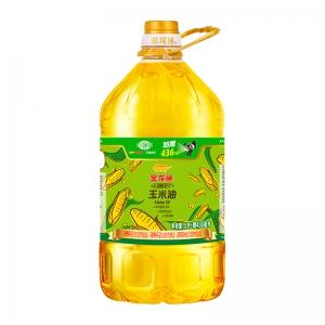 88VIP:金龙鱼 不油腻 玉米油5.436L/桶*5件
