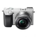 SONY 索尼 Alpha 6400L APS-C画幅 微单相机 摩登银 E PZ 16-50mm F3.5 OSS 变焦镜头 单头套机6799元