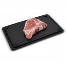 Eccho Products 双倍除霜托盘,快速解冻盘,冷冻肉的解冻托盘,适用于带滴水盘的肉类解冻盘,肉类保温器和硅胶海绵