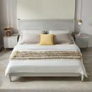 QuanU 全友 126903B 现代轻奢橡胶木双人床 单床B 1.5m¥549.00 3.8折 比上一次爆料降低 ¥50