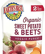 Earth's Best爱思贝 2段婴幼儿辅食 有机蔬菜吸吸乐 99g*12袋¥97.47 比上一次爆料降低 ¥0.95