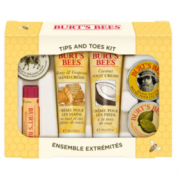 Burt's Bees Tips and Toes礼品套装(2件护手霜, 护足霜, 指缘角质膏, 护手膏和润唇膏)$12.97(折¥88.20)