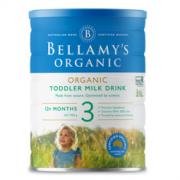 BELLAMY'S 贝拉米 经典系列 有机幼儿奶粉 澳版 3段 900g180.95元