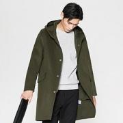 ME&CITY 男式羊毛呢子大衣 53933950