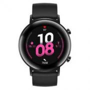 HUAWEI 华为 WATCH GT 2 运动款 智能手表 42mm 幻夜黑不锈钢表壳 幻夜黑橡胶表带(血氧、GPS、扬声器)1388元