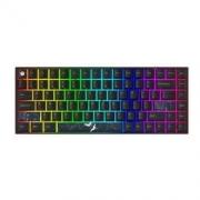 NEWMEN 新贵 GM840Pro 三模热插拔 84键 RGB 机械键盘 BOX白轴479元