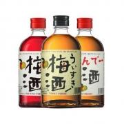 PLUS会员:AKASHI 明石 梅子酒 3瓶装384元包邮(多重优惠)