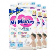 Merries 花王妙而舒 L54片 4包装184元包邮