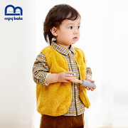 mini balabala 迷你巴拉巴拉 儿童珊瑚绒保暖马甲¥45.90 5.7折