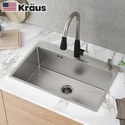 KRAUS 克劳斯 CKHT100-5843 304不锈钢厨房水槽