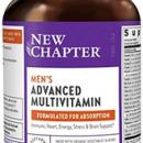 New Chapter 男士复合维生素,适合每个人,含益生元+硒+ B族维生素+维生素D3 +未经人工改造成分- 72粒 : 某逊: 个护健康¥203.66