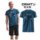 CRAFT Graphic 1907111 男士速干短袖T恤79元