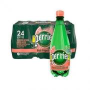 perrier 巴黎水 Perrier)天然气泡矿泉水(西柚味)塑料瓶装 500ml*24瓶/箱 进口饮用水 矿物质水法国进口99元
