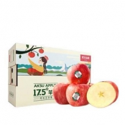 PLUS会员:NONGFU SPRING 农夫山泉 阿克苏苹果礼盒 特大果85-89mm 14个装63.9元包邮(多重优惠)
