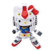 BANDAI 万代 SD EX Hello Kitty猫 联动 RX-78-2、元祖高达 拼装¥112.00 比上一次爆料降低 ¥16