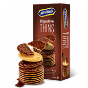 McVitie's 麦维他 黑巧克力薄脆消化饼干 100g¥3.73 1.7折 比上一次爆料降低 ¥1.71
