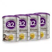 a2 艾尔 新西兰原装进口 a2 白金版 较大婴儿配方奶粉 2段(6-12个月) 900g/罐 4罐装