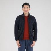 UNIQLO 优衣库 419504 男士摇粒绒拉链外套¥99.00 6.6折 比上一次爆料降低 ¥30