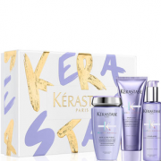 Kérastase 卡诗 玻尿酸水光凝色头发洗护三件套装 赠双重菁纯修护油50mL