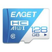 EAGET 忆捷 T1 蓝白卡 Micro-SD存储卡 128GB(UHS-I、V30、U3、A1)¥54.90 7.9折 比上一次爆料降低 ¥24.9