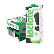 88VIP:Laciate 兰雀 脱脂纯牛奶 1L*12盒