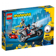 LEGO 乐高 Minions小黄人系列 75549 无法阻挡的摩托车追击