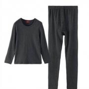 PLUS会员:Langsha 浪莎 男士保暖内衣套装 ZB01142.9元包邮(双重优惠)