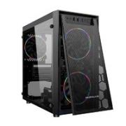 BUBALUS 大水牛 飓风 全侧透M-ATX电脑机箱¥79.90 6.7折 比上一次爆料降低 ¥9.1