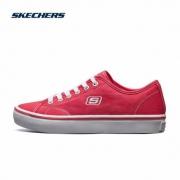PLUS会员:SKECHERS 斯凯奇 66666131 女款帆布鞋99元包邮(需用券)