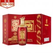 PLUS会员:YONGFENG 永丰牌 北京二锅头 30贵宾酒 42度 清香型白酒 500ml*6瓶 整箱装