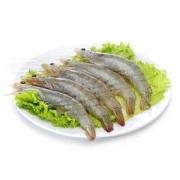 Seamix 禧美海产 禧美 国产白虾对虾 净重1.8kg 90-108只/盒 (下单加送 藻N 免洗海带花400g/袋)
