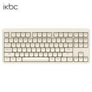 iKBC 奶糖系列 S300 双模机械键盘 87键 红轴
