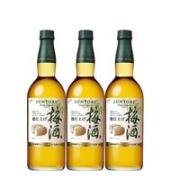 YAMAZAKI 山崎 焙煎梅酒精致调配升级版 3瓶装750ml¥426.55 2.8折