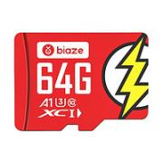 Biaze 毕亚兹 高速加强版 Micro-SD存储卡 64GB(UHS-I、V30、U3、A1)¥15.90 4.8折 比上一次爆料降低 ¥0.7