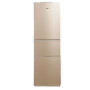 Midea 美的 金色冰箱215升三门冰箱风冷无霜净味节能静音 家电 BCD-215WTM(E)1699元