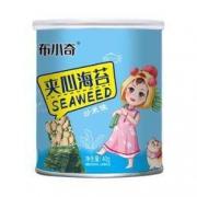 PLUS会员:布小奇 夹心海苔夹心脆 40g*5罐