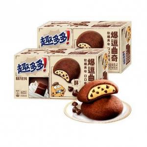 88VIP:趣多多 爆逗曲奇粒粒巧克力味96g*2盒*5件