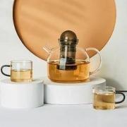 PLUS会员:LOVWISH 乐唯诗 玻璃茶具套装 5件套44元包邮(多重优惠)
