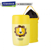 Glasslock 三光云彩 GTL3169B 儿童不锈钢保温桶¥99.00 2.5折