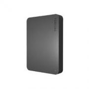 TOSHIBA 东芝 新小黑A3系列 2.5英寸Micro-B移动机械硬盘 4TB USB 3.0 商务黑