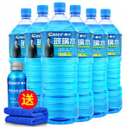 CHIEF 车仆 玻璃水 0度 2L 6瓶