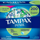Tampax Pearl 卫生棉条 带塑料导管 200支(50条*4)¥263.14 比上一次爆料降低 ¥12.84