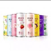 RIO 鸡尾酒 微醺系列3度 8种口味 330ml*10罐*3件+送330ml*12罐138元包邮(合46元/件)