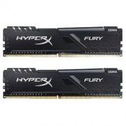 HYPER Fury雷电系列 DDR4 3200MHz 黑色 台式机内存 16GB 8GBx2 HX432C16FB3K2/16