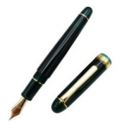 PLATINUM 白金 PNB-13000 3776 世纪钢笔 桂冠绿 升级款