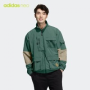 adidas 阿迪达斯 neo HE7940 男款运动夹克¥329.00 5.1折
