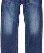 限W34/L34码!DIESEL 迪赛 LARKEE系列 男士直筒牛仔裤 0806W