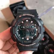 Casio 卡西欧 G-Shock系列 GA-100GBX 男士亮金双显运动手表517.8元包邮