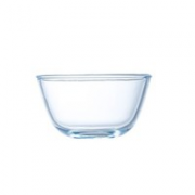 INtrue 耐热玻璃汤碗 500ml*2个